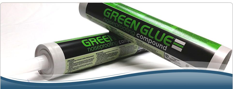 Green Glue Noiseproofing Compound | Free Shipping / Lowest Prices