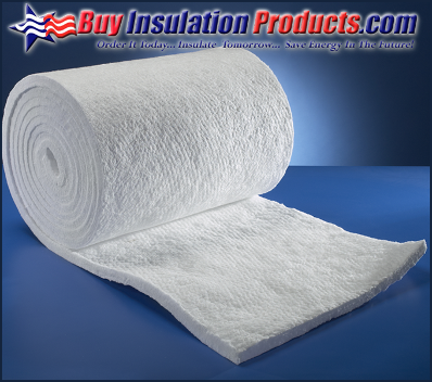 Unifrax Durablanket S is a flexible insulation blanket that is composed of interwoven ceramic fibers.  Durablanket S is used for extreme high temperature applications calling for material that can take up to 2150F.